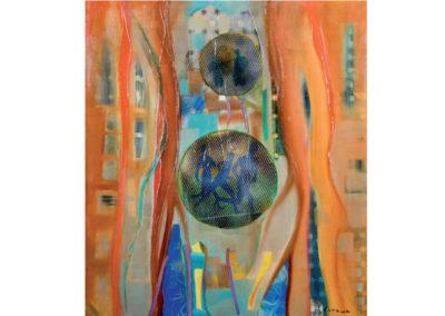 Alla ricerca della luce, della speranza, e della fede (2011) cm. 80x70