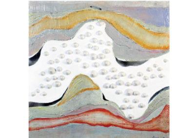 L'esodo (2011) cm. 80x80