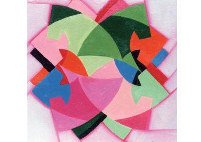 Figure euritmiche 1 (1991) cm. 70x70