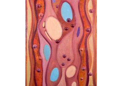Origine di vita (2012) cm. 100x80