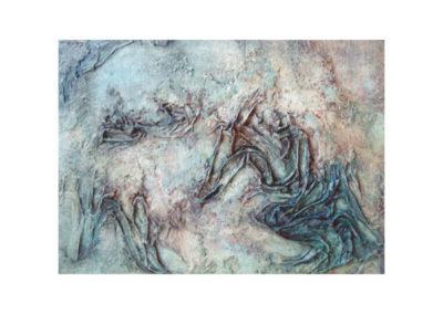 Il segno del tempo (2012) cm. 60x80