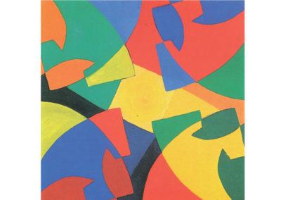 Figure euritmiche 2 (1991) cm. 70x70