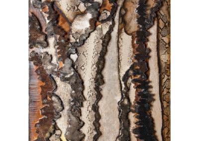 Alberi cavi rifugio di meretrici e vagabondi, 2017 tecnica mista su tela, cm. 80x60