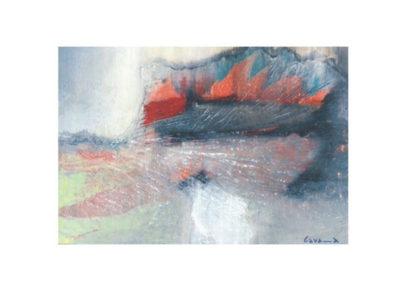 Composizione (Le vele) (2003) cm. 70x80