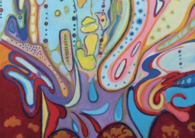 Profumo d'oriente (2012) cm. 80x70